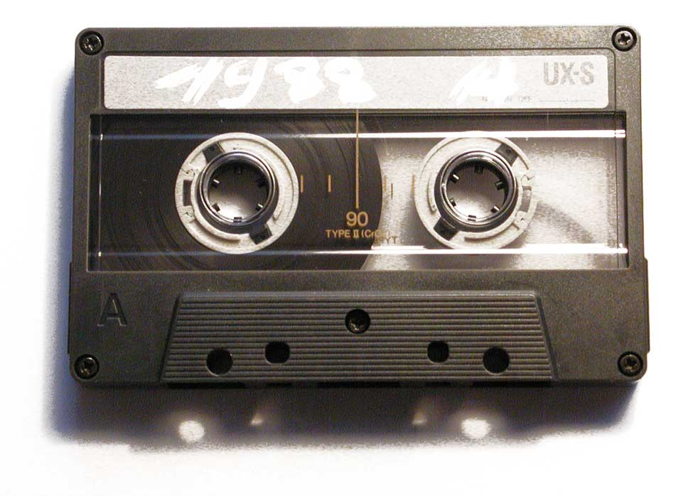 Remember Cassettes, our primary source of music in good ol' days